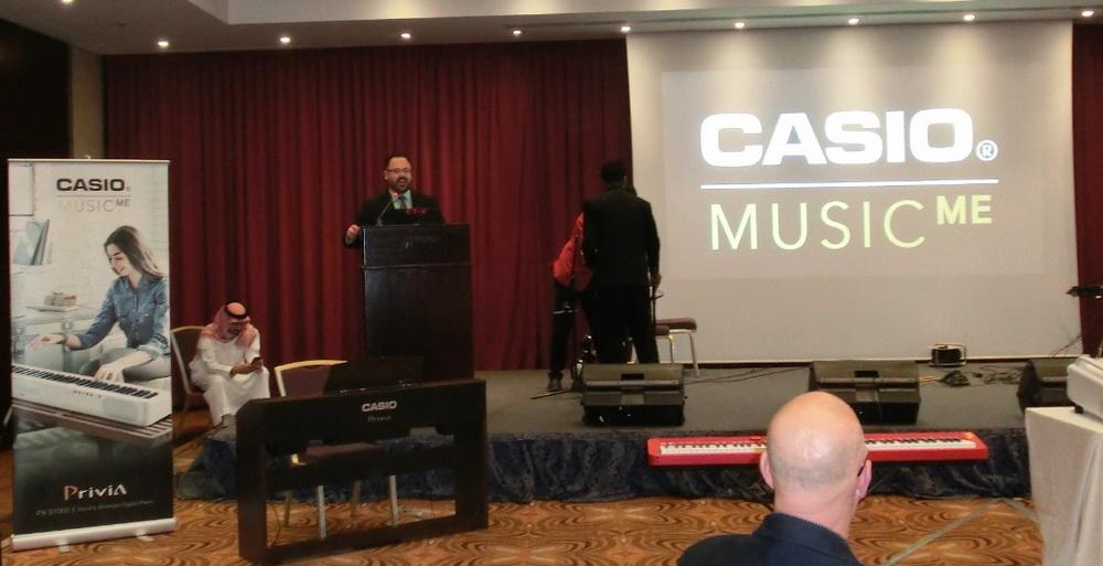 كاسيو تطلق أحدث طرازات مفاتيح الإيقاع الخليجية CT-X