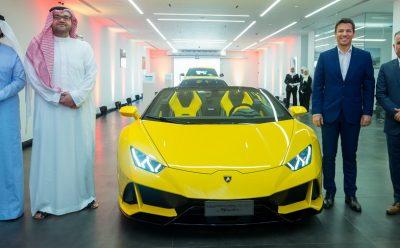 لامبورغيني السعودية تدشن طراز هوراكان ايفو 2020 الجديد