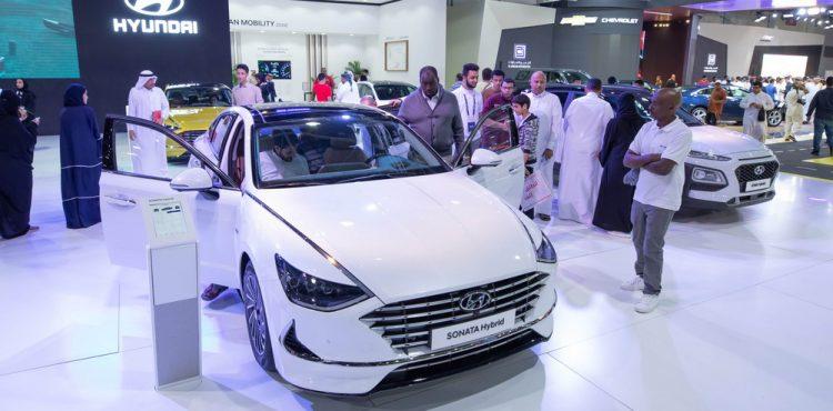 مركبات هجينة حديثة من هيونداي في معرض السعودية