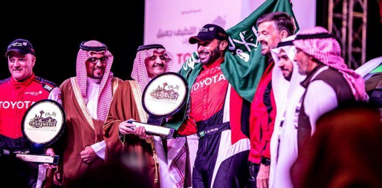 نتائج الموسم الأول من بطولة السعودية تويوتا للراليات الصحراوية