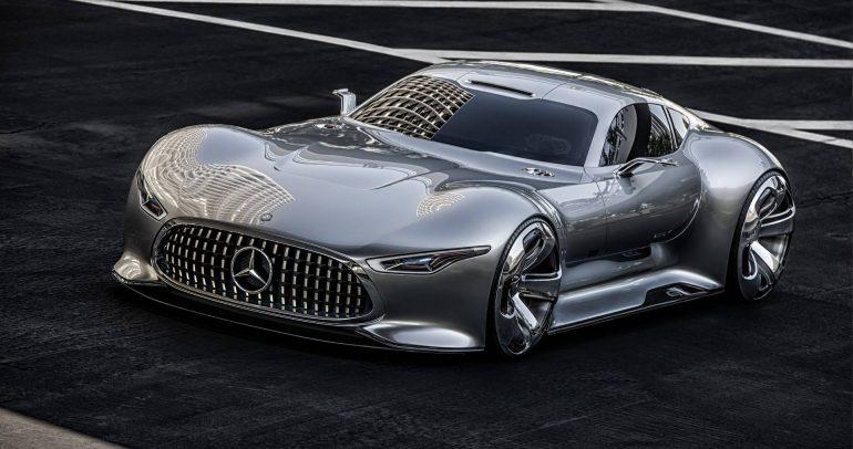 مرسيدس-بنز AMG فيجن GT الإختبارية : أولى السيارات الإفتراضية