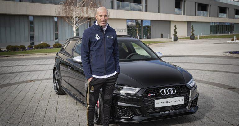 لاعبي ريال مدريد يحصلون على سياراتهم الجديدة من أودي