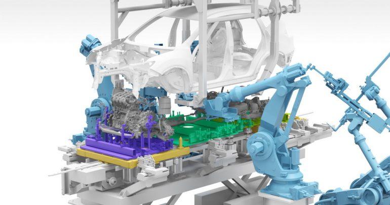 4 طرق إنتاج مبتكرة من أجل صنع سيارات كهربائية متصلة بالإنترنت
