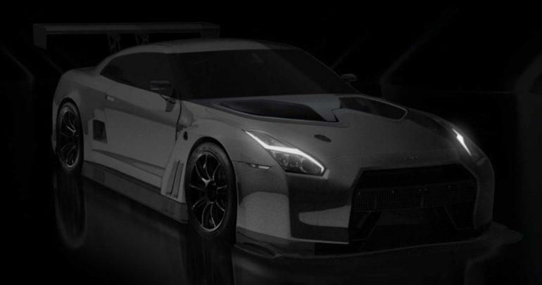نيسان GT-R GT23 التي تندفع بالعجلات الخلفية فقط !!