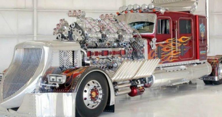 ثور 24 : أغلى شاحنة في العالم بسعر 12 مليون دولار !!