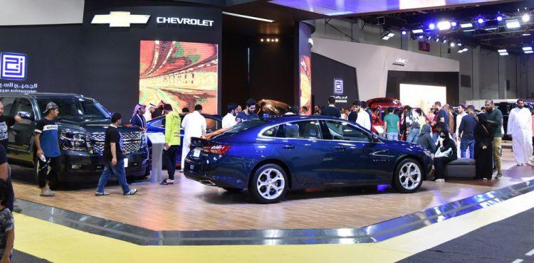 حضور لافت لشركة الجميح للسيارات في معرض جدة