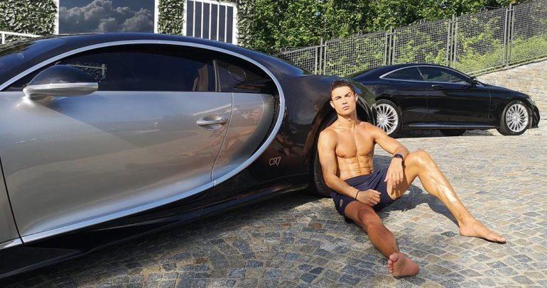 شاهدوا 10 من أجمل سيارات كريستيانو رونالدو