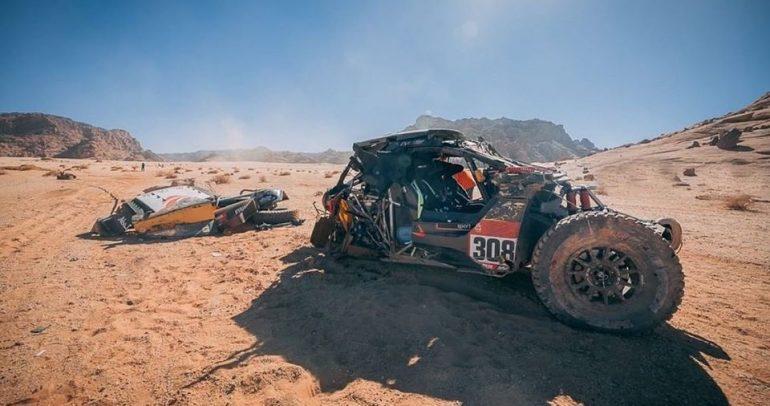 السائق الإماراتي خالد القاسمي ينسحب من رالي داكار السعودية 2020