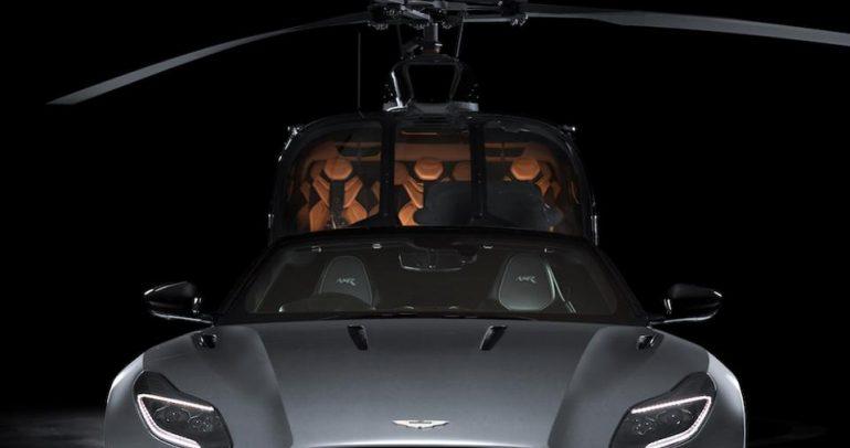 تعاون مثمر بين أستون مارتن وإيرباص ينتج نسخة هليكوبتر خاصة