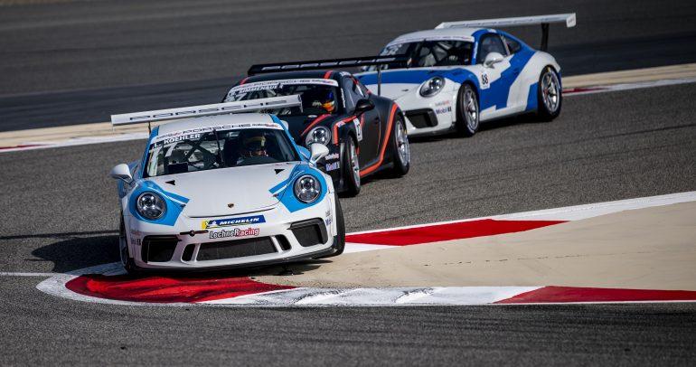 17 سائقاً يستعدون لثلاثة سباقات في تحدي بورشه سبرنت الشرق الأوسط