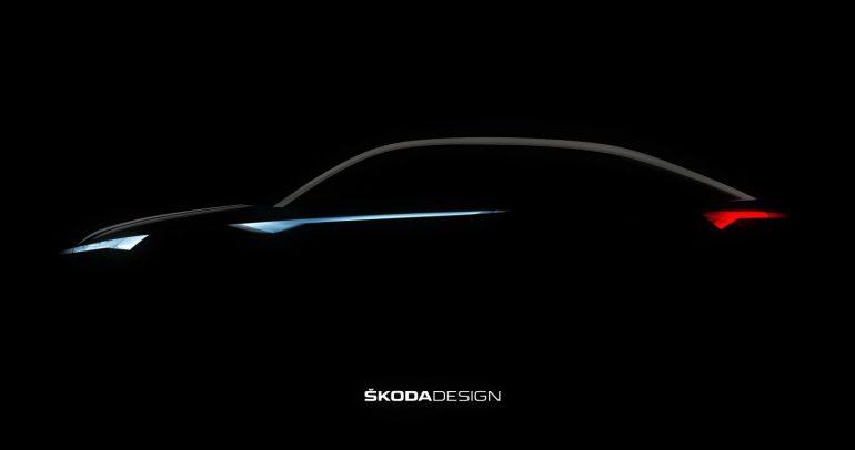 صور تشويقية لسيارة سكودا الجديدة Vision IN المرصعة بالكريستال