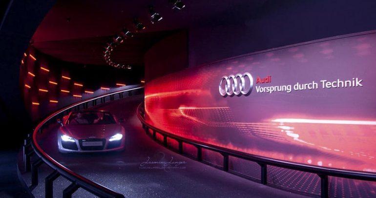 إليكم القصة الكاملة وراء شعار Audi
