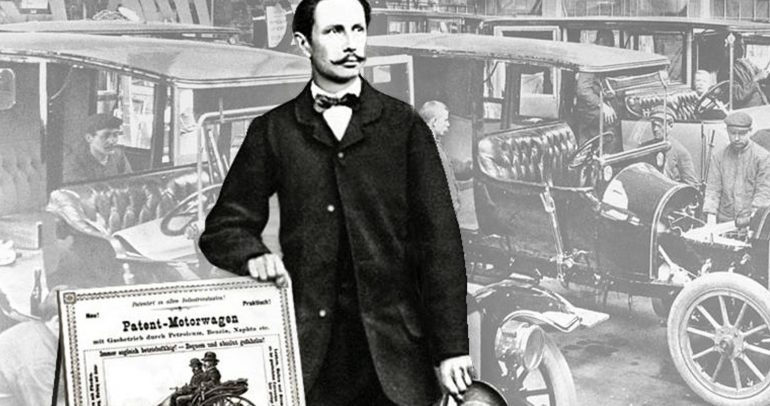 كارل بنز.. أسطورة صناعة السيارات