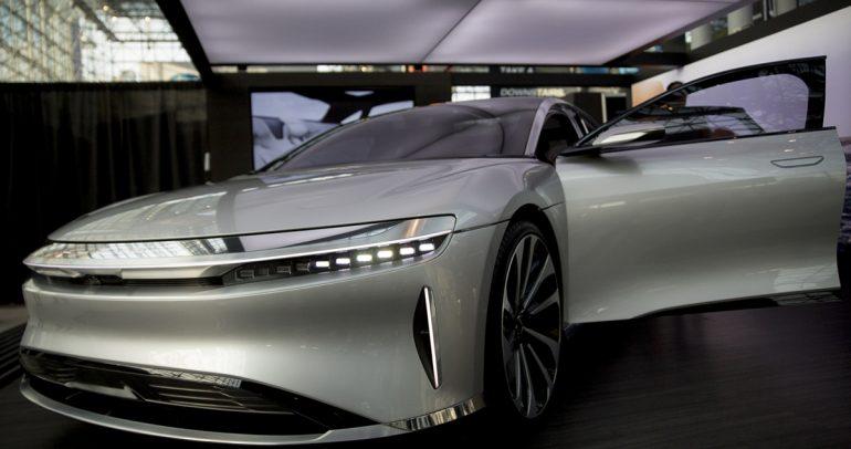 استثمار سعودي بقيمة مليار دولار ينتج سيارة لوسيد الكهربائية