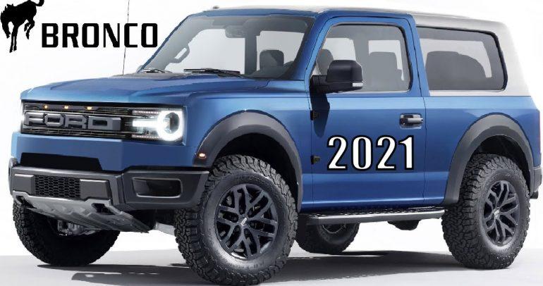 صور محتملة لسيارة فورد برونكو 2021 المنافسة لجيب رانجلر