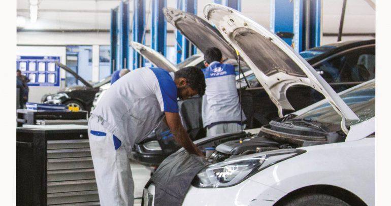 شركة الناغي تطلق عروضاً مميزة على صيانة سيارات الهيونداي