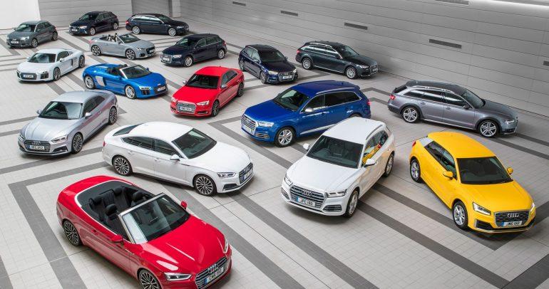 قائمة بالأنواع المختلفة للسيارات
