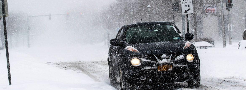 القيادة في الشتاء