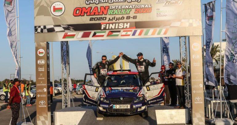 نتائج الجولة الأولى من بطولة الشرق الأوسط للراليات لعام 2020