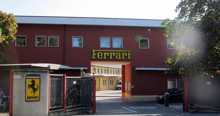 فيراري تعلّق العمل ببعض مصانعها في إيطاليا بسبب كورونا