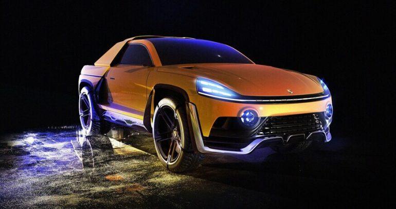 صور رقمية لسيارة بورشه تايكان المستقبلية