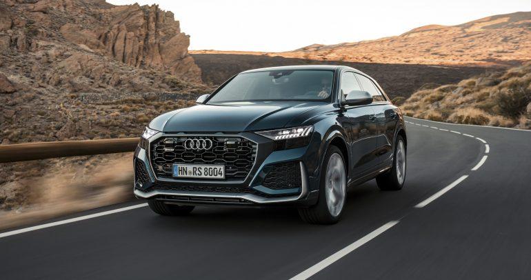 سيارة Audi RS Q8 الجديدة تصل الشرق الأوسط