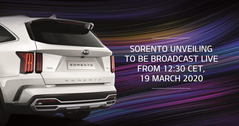 عبر بث مباشر على فيسبوك.. كيا ستكشف عن سيارة سورينتو
