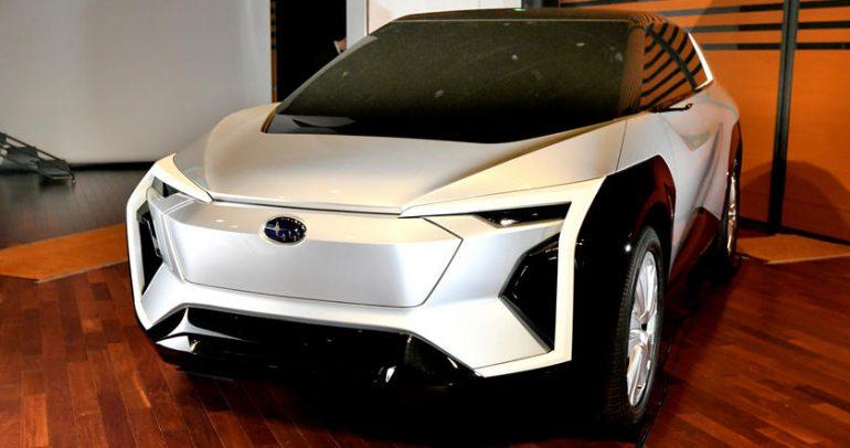 سوبارو تكشف عن سيارة إيفولتيس الجديدة بالتعاون مع تويوتا