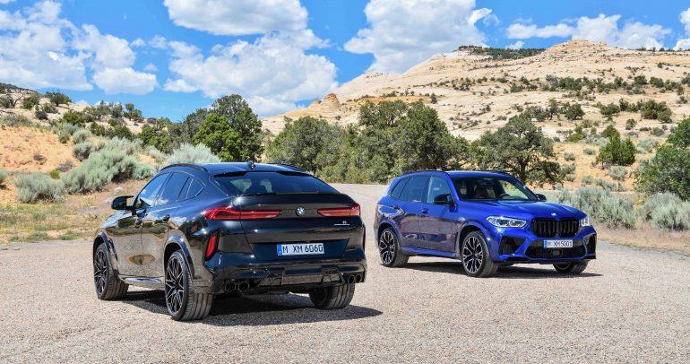 شركة محمد يوسف ناغي تطلق طرازي BMW X5 M وBMW X6 M في المملكة