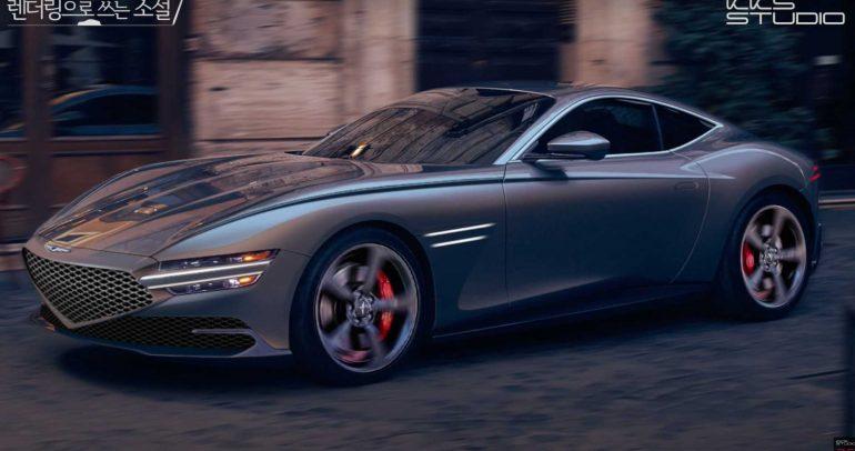 بالفيديو.. جينيسيس GT70 كوبيه تظهر في شكل تخيّلي رائع