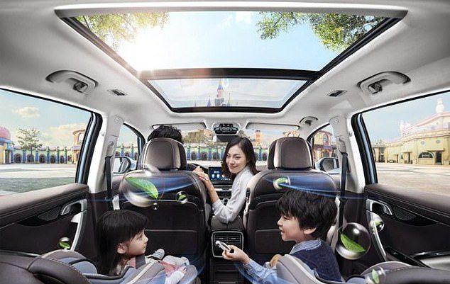 """سيارات """"مضادة للفيروسات"""" في الصين"""
