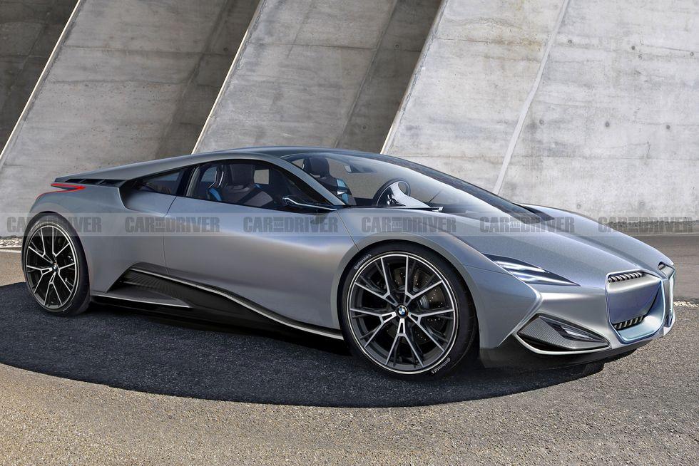 بالصور.. سيارات قادمة تستحق الانتظار 2024-bmw-i8-m-render