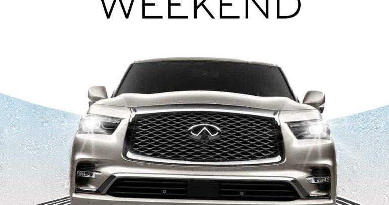 إنفينيتي تتيح لك فرصة استبدال سيارتك خلال عطلة نهاية الأسبوع
