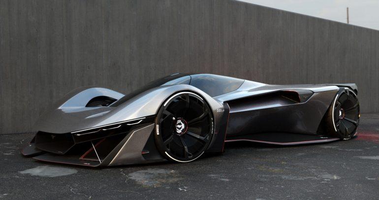 صور.. سيارة فورد موستانج الكهربائية الخارقة