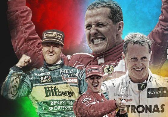 مايكل شوماخر يفوز بلقب الشخصية الأكثر تأثيراً في تاريخ الفورمولا 1