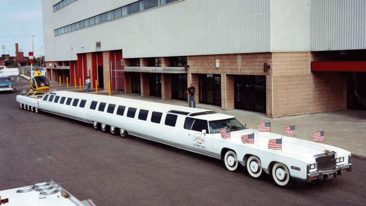 أطول سيارة في العالم