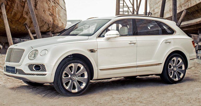 بنتلي تصنّع السيارة رقم 20000 من بينتايجا