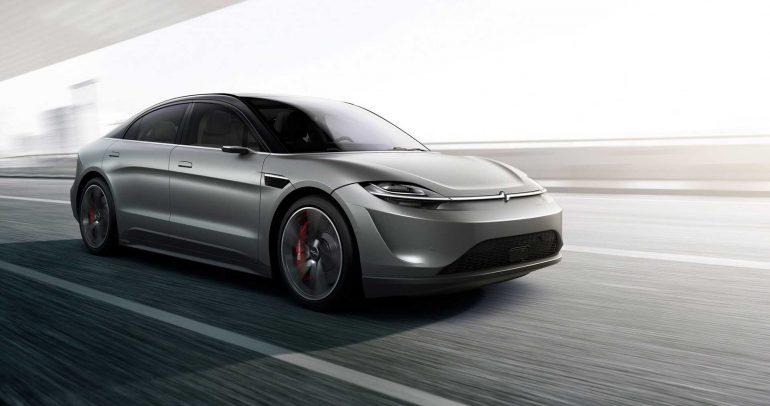"""فيديو.. سيارة سوني """"فيجن إس"""" الكهربائية تدخل مرحلة الإنتاج"""