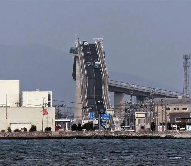 جسر إيشيما أوهاشي في اليابان