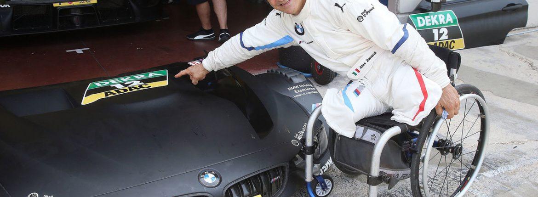 سائق الفورمولا 1 السابق زاناردي