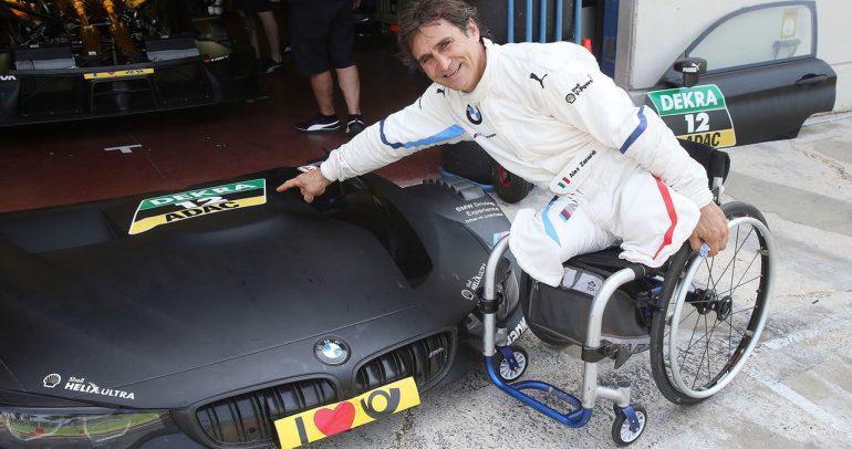 سائق الفورمولا 1 السابق زاناردي يتعرض لحادث مروع