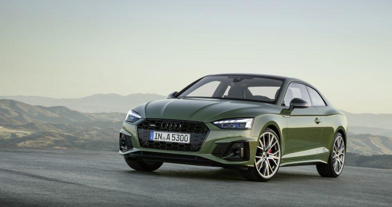 سيارة Audi A4 وسيارة Audi A5 الجديدتان تصلان إلى شركة النابودة