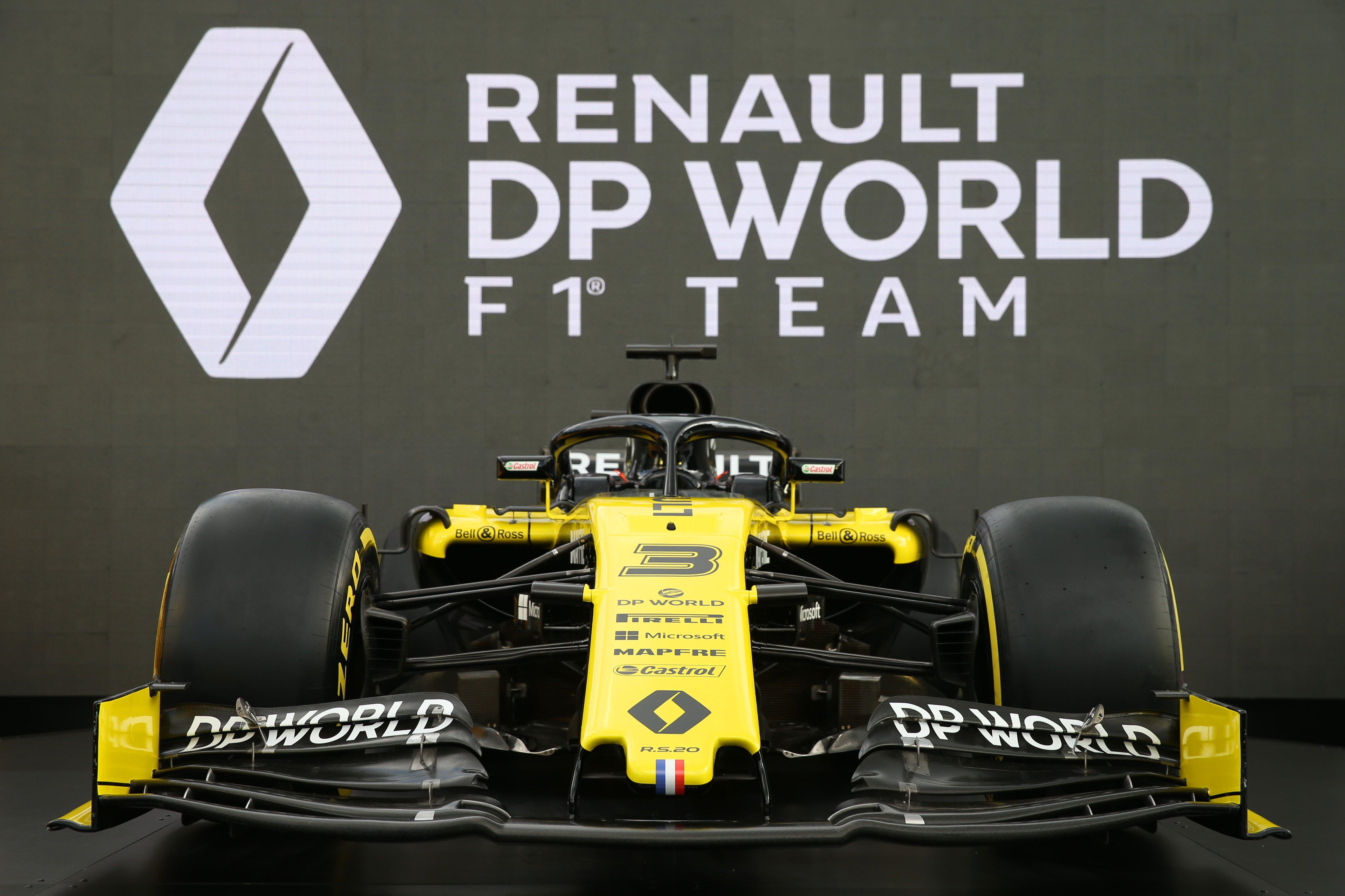 """فريق """"رينو موانئ دبي العالمية للفورمولا"""