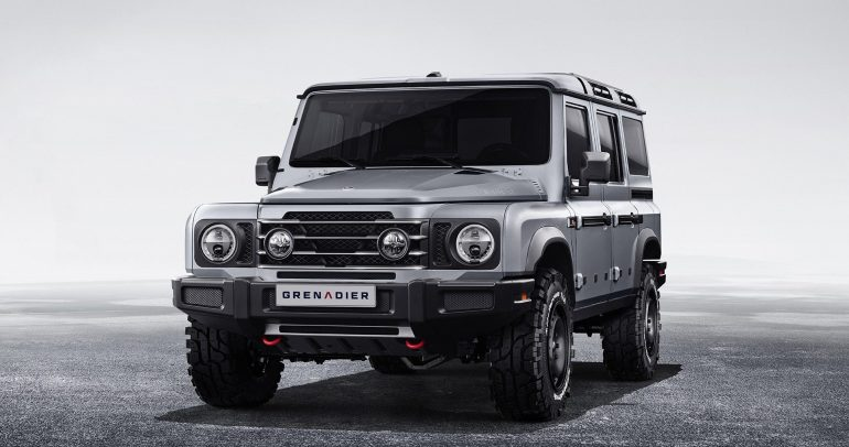 بالصور: الكشف عن تصميم سيارة INEOS Grenadier المقبلة