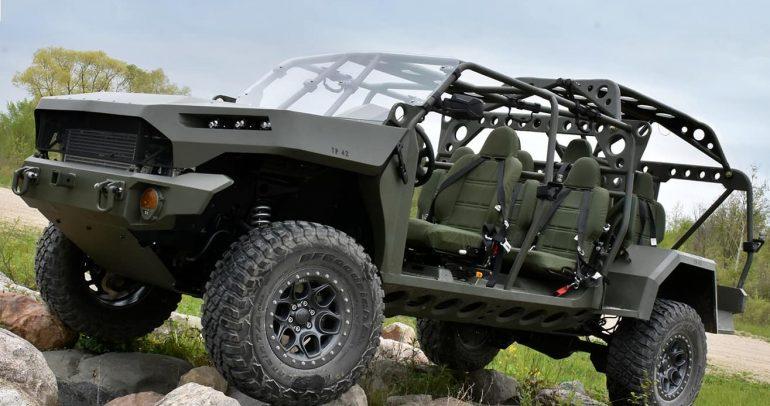 جنرال موتورز تعود للخدمة العسكرية بتصنيع مركبة ISV