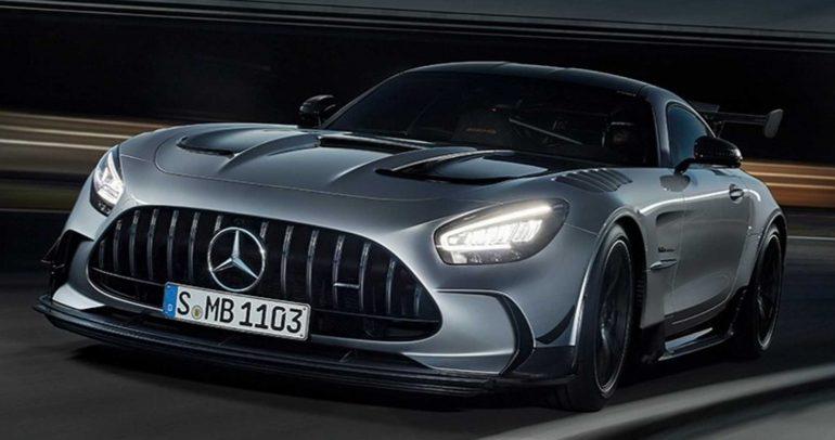 تسريب صور مرسيدس AMG GT R لعام 2021 وتبدو مدهشة