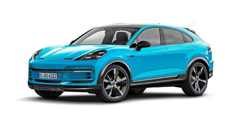 بورشه ماكان 2022 تتحول إلى سيارة كهربائية بالكامل