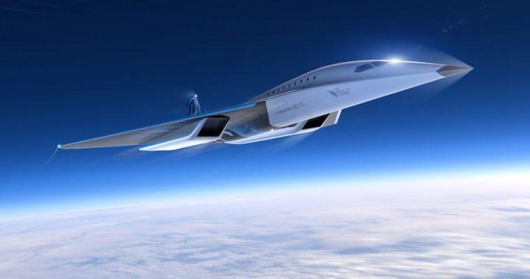أسرع طائرة ركاب في العالم تكشف عنها رولز رويس