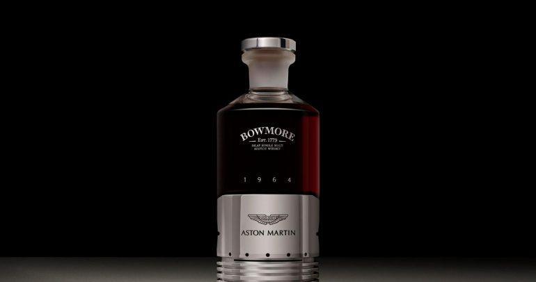 مستوحاة من DB5.. أستون مارتن تحتفل بزجاجة ويسكي ثمنها 50 ألف دولار