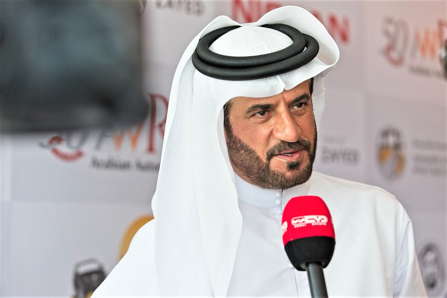 رئيس منظّمة الإمارات للسيارات والدرّاجات النارية ونائب رئيس 'الاتحاد الدولي للسيارات' محمد بن سليم
